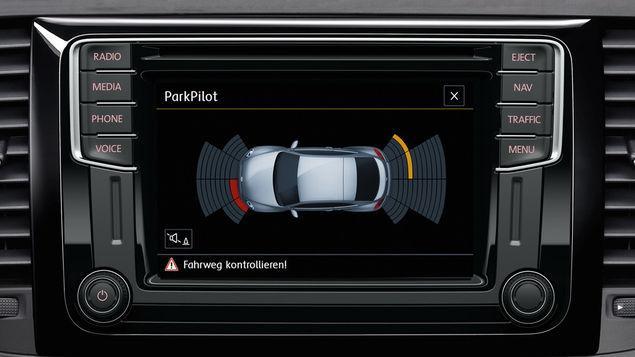 VW Beetle Cabrio - Parkpilot