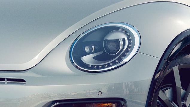 VW Beetle Cabrio - světla