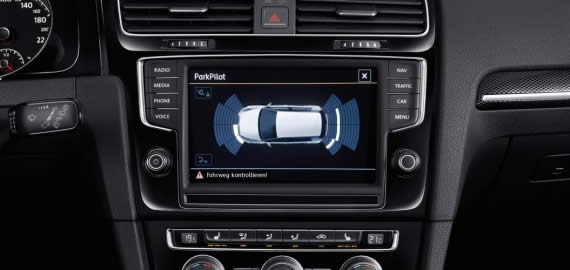 Volkswagen Golf Sportsvan - Parkpilot
