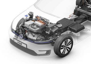 Volkswagen e-Golf - motor