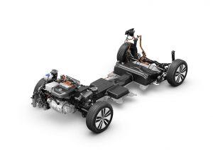 Volkswagen e-Golf - podvozek