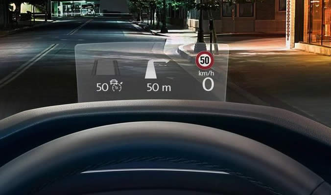 Volkswagen Tiguan Allspace - Head-up-Display