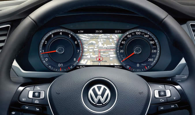 VW Tiguan - Active info display