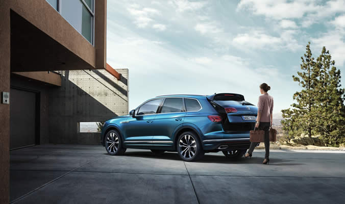 Volkswagen Touareg - Easy Open/Easy Close