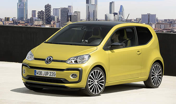VW up! - Exteriér