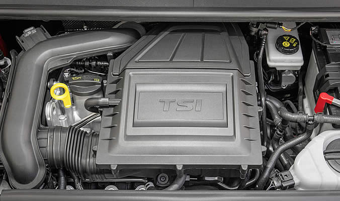 VW up! - Motor 1.0 TSI engine with 66 kW / 90 PS
