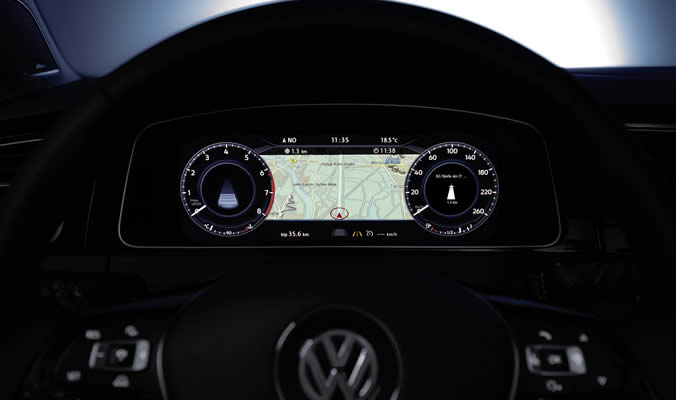 VW Golf Variant - Active Info Display