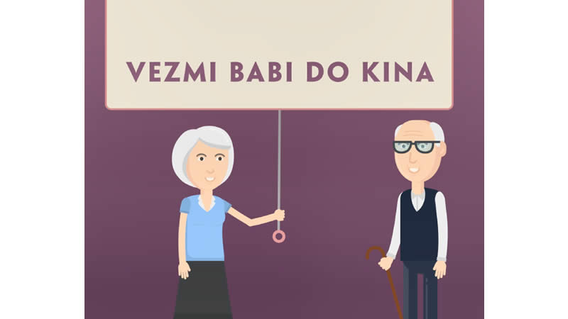 "Kia - ""Vezmi babi do kina!"""
