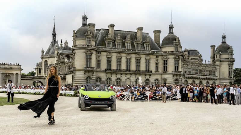 thumbs vw id buggy na soutezi v chantilly