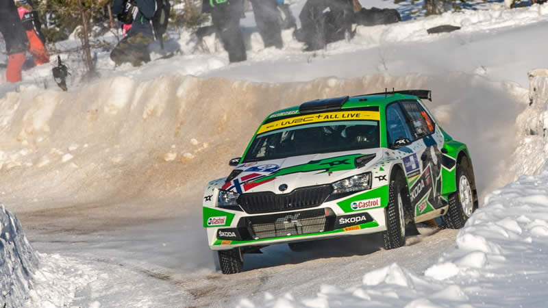 ŠKODA - ARCTIC RALLY VE FINSKU