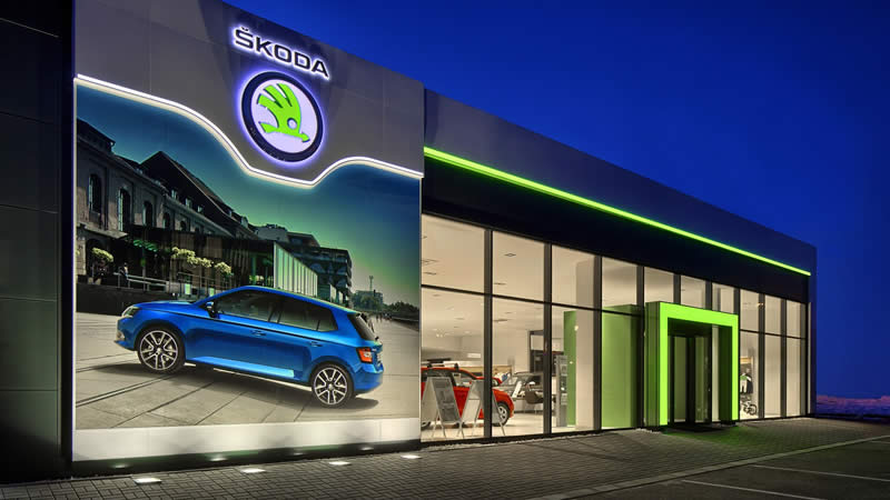ŠKODA SHOWROOM