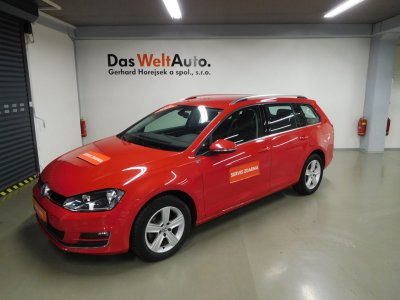 Volkswagen Golf Variant 1,6 TDI / 81 kW HIGHLINE