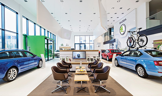 Showroom Auto Škoda