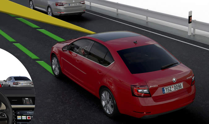 Škoda Octavia Lane Assist
